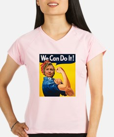 Hillary Can Do It Performance Dry T-Shirt