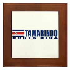 Tamarindo, Costa Rica Framed Tile