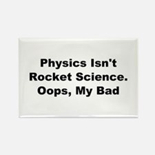 Unique Physicists Rectangle Magnet (10 pack)
