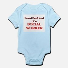 Proud Boyfriend of a Social Worker Body Suit