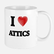 I Love ATTICS Mugs