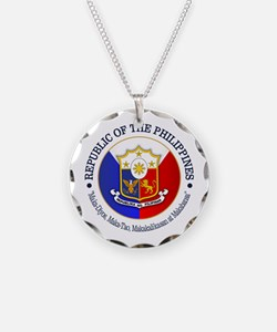 The Philippines (rd) Necklace
