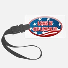 LOVE IT OR LEAVE IT! AMERICAN FL Luggage Tag