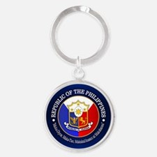 The Philippines (rd) Keychains