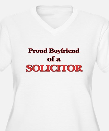 Proud Boyfriend of a Solicitor Plus Size T-Shirt