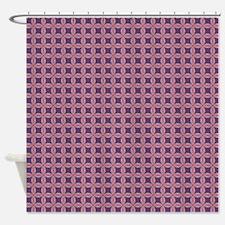 Diamond Shards (Violet27) Shower Curtain