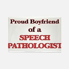 Proud Boyfriend of a Speech Pathologist Magnets