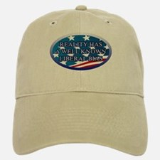 REALITY HAS A WELL KNOWN LIBERAL BIAS Baseball Baseball Cap