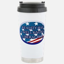 REALITY HAS A WELL KNOW Stainless Steel Travel Mug