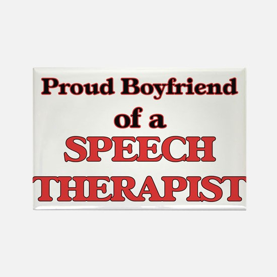 Proud Boyfriend of a Speech Therapist Magnets