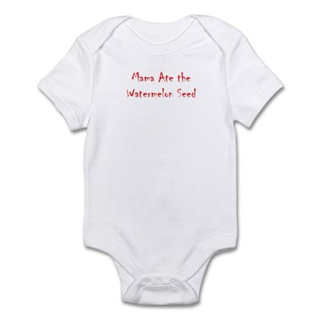 Baby Watermelon Seed Body Suit