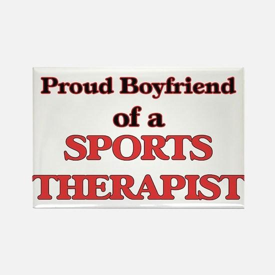 Proud Boyfriend of a Sports Therapist Magnets