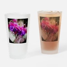 Funny Fuschia Drinking Glass