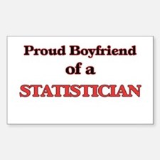 Proud Boyfriend of a Statistician Decal