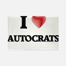 I Love AUTOCRATS Magnets