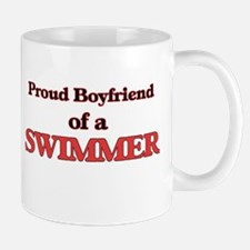 Proud Boyfriend of a Swimmer Mugs