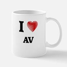 I Love AV Mugs