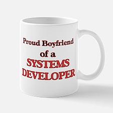 Proud Boyfriend of a Systems Developer Mugs