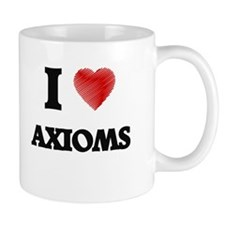 I Love AXIOMS Mugs