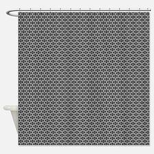Diamond Shapes (Charcoal) Shower Curtain