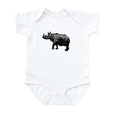 Black Rhino Onesie