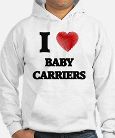 Funny Baby carrier Hoodie