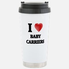 I Love BABY CARRIERS Stainless Steel Travel Mug