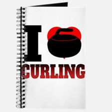 I Heart Curling Journal