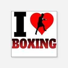 I Heart Boxing Sticker