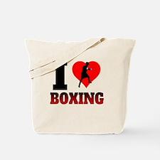 I Heart Boxing Tote Bag