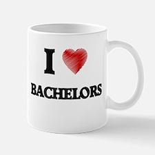 I Love BACHELORS Mugs