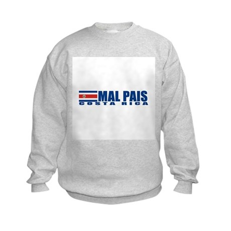Mal Pais, Costa RIca Kids Sweatshirt