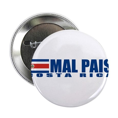 "Mal Pais, Costa RIca 2.25"" Button (100 pack)"