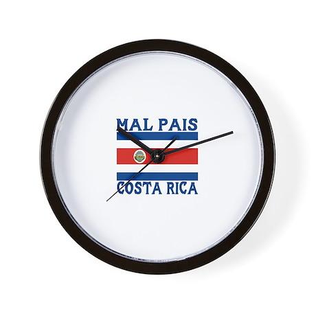 Mal Pais, Costa RIca Wall Clock