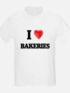 I Love BAKERIES T-Shirt
