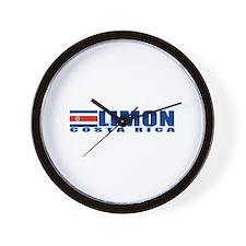 Limon, Costa Rica Wall Clock