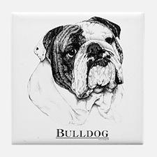 Bulldog Dog Breed Tile Coaster