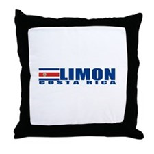 Limon, Costa Rica Throw Pillow