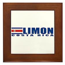 Limon, Costa Rica Framed Tile