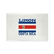 Limon, Costa Rica Rectangle Magnet (100 pack)