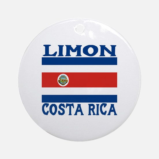Limon, Costa Rica Ornament (Round)