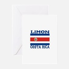 Limon, Costa Rica Greeting Cards (Pk of 10)