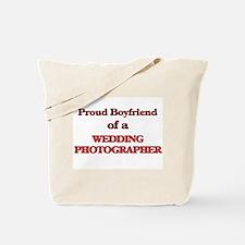 Proud Boyfriend of a Wedding Photographer Tote Bag