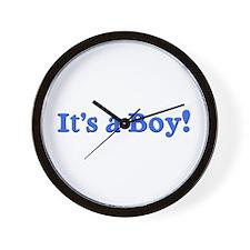 It's a Boy! Wall Clock