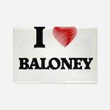 I Love BALONEY Magnets