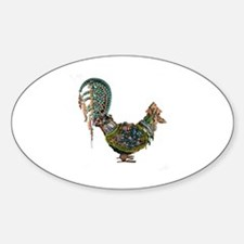 Cute Bedazzled Sticker (Oval)