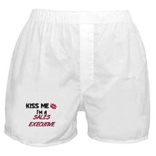 Kiss Me I'm a SALES EXECUTIVE Boxer Shorts
