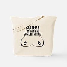 Unique Funny boob Tote Bag