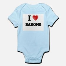 I Love BARONS Body Suit