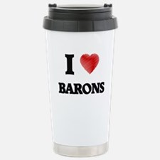 I Love BARONS Travel Mug